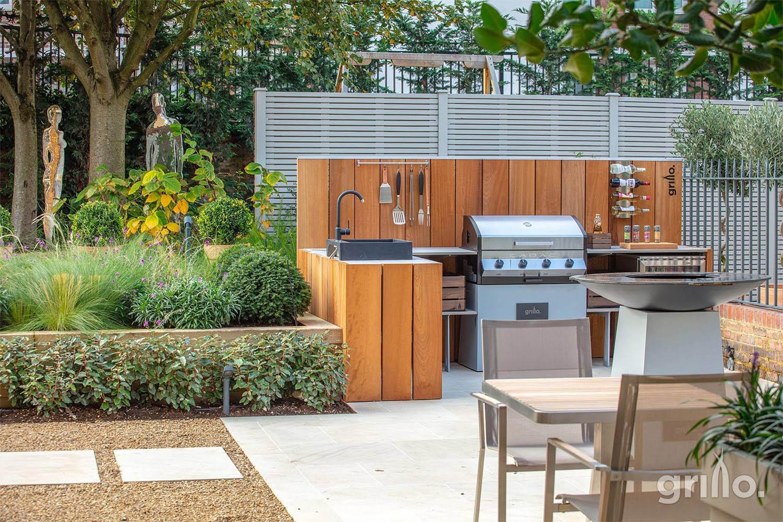 Grillo Kitchen at Regents bridge garden