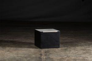 Grillo Gusto Ceramic BBQ Vantage black carbon steel base with grey porcelain worktop
