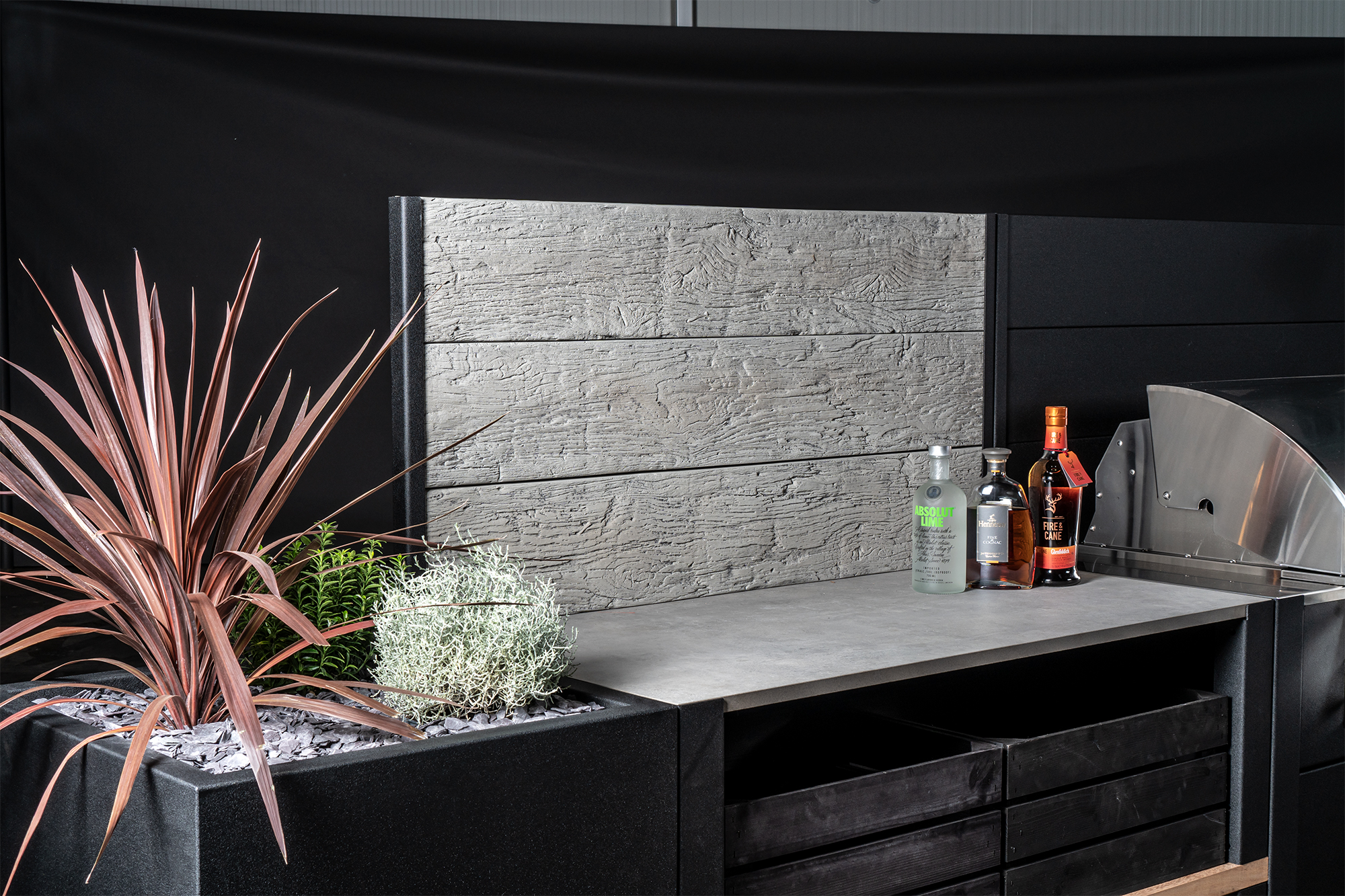 Feature Wall Millboard Driftwood