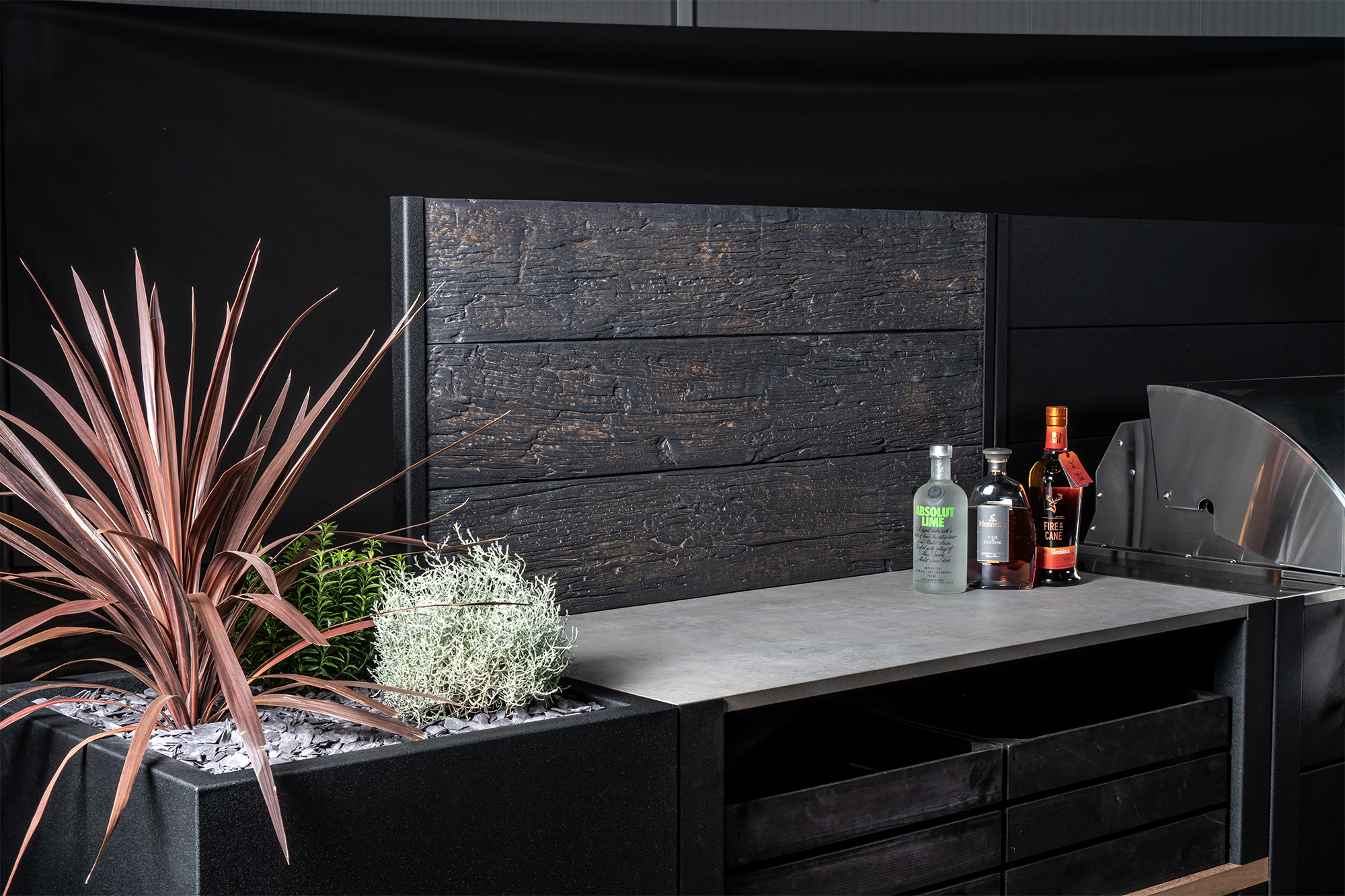 Feature Wall Millboard Embered