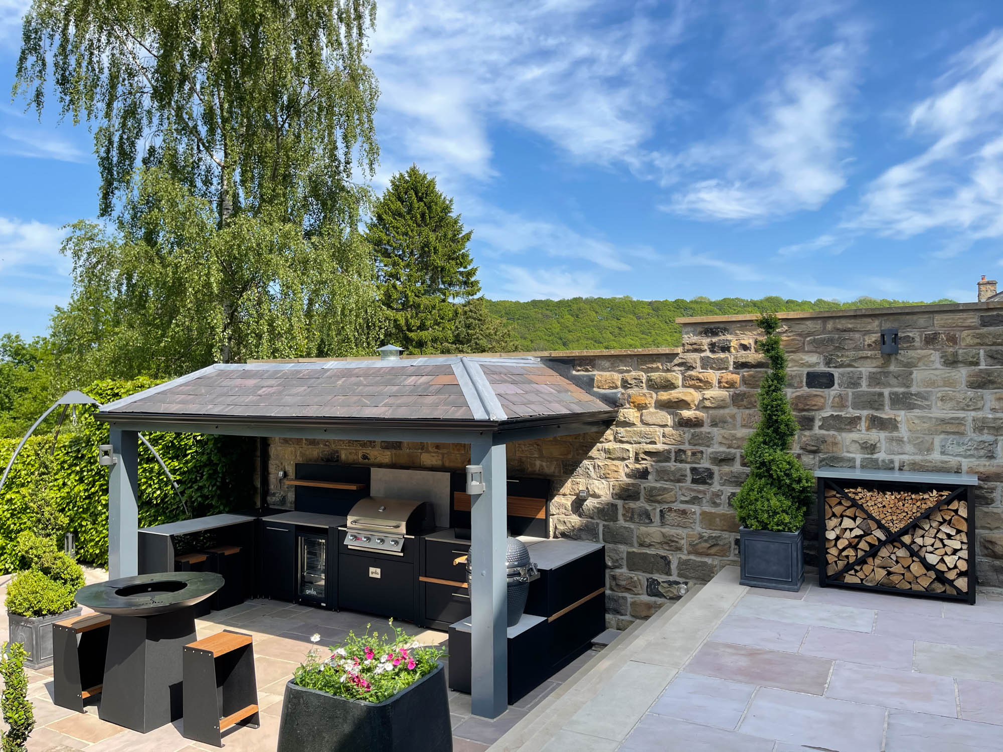 Competition Vantage Gas BBQ Anvil Gusto Bar Sheffield 4